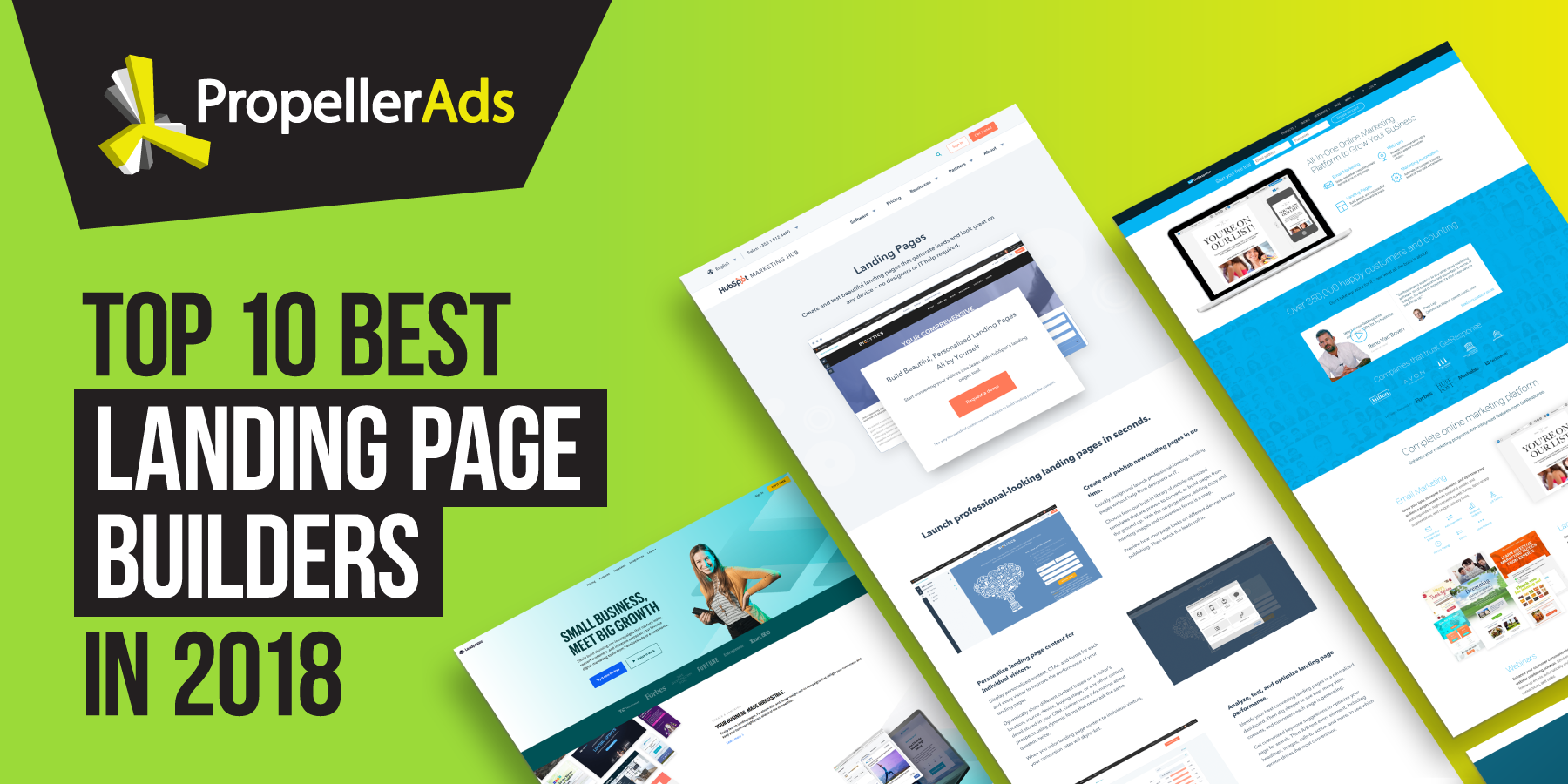 Read more: Our Picks For The Top 10 Best Landing Page Builders in 2018