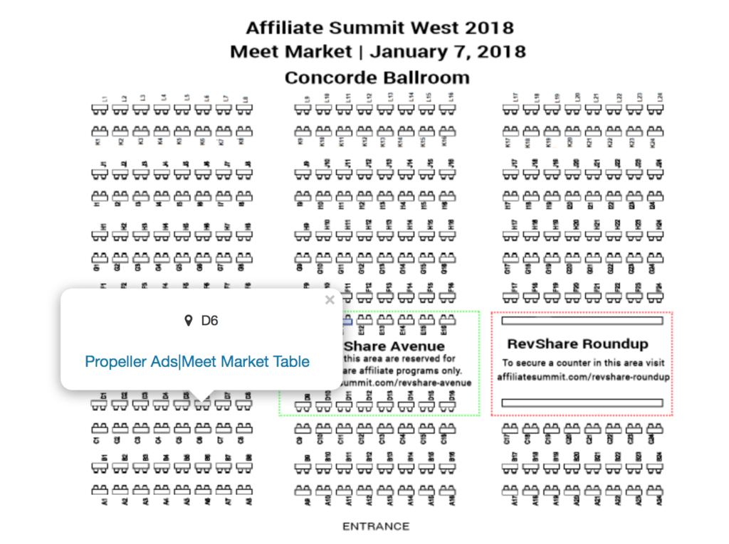 Find PropellerAds at Affiliate Summit West