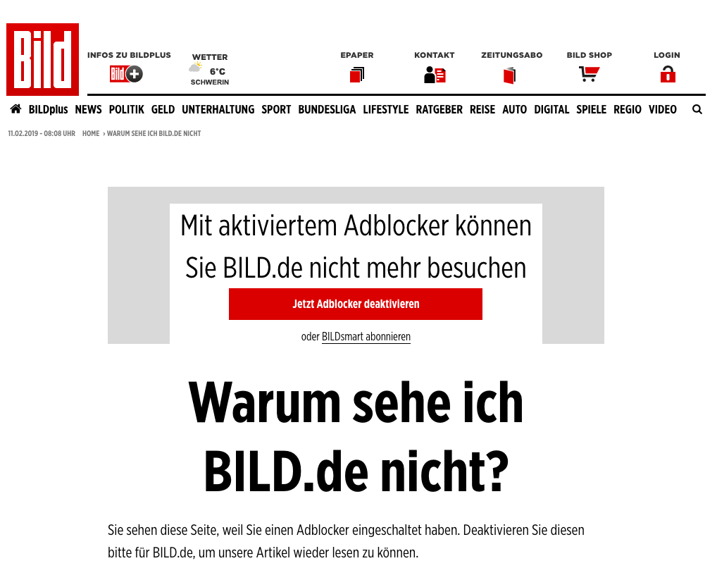 Bild_adblock detection