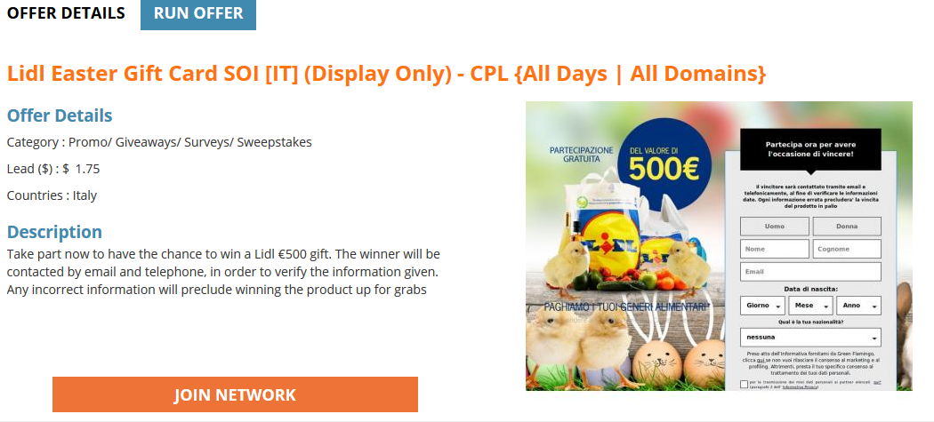 easter offer_example