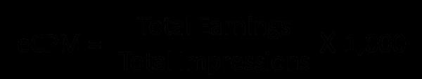 ecpm calculation