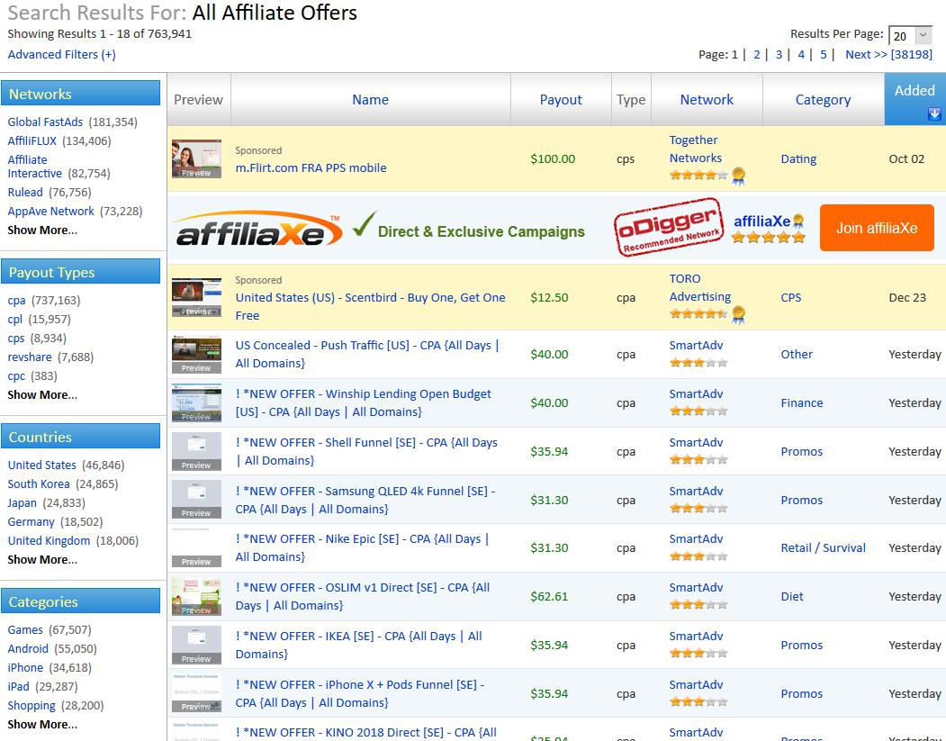 oDigger_find offers