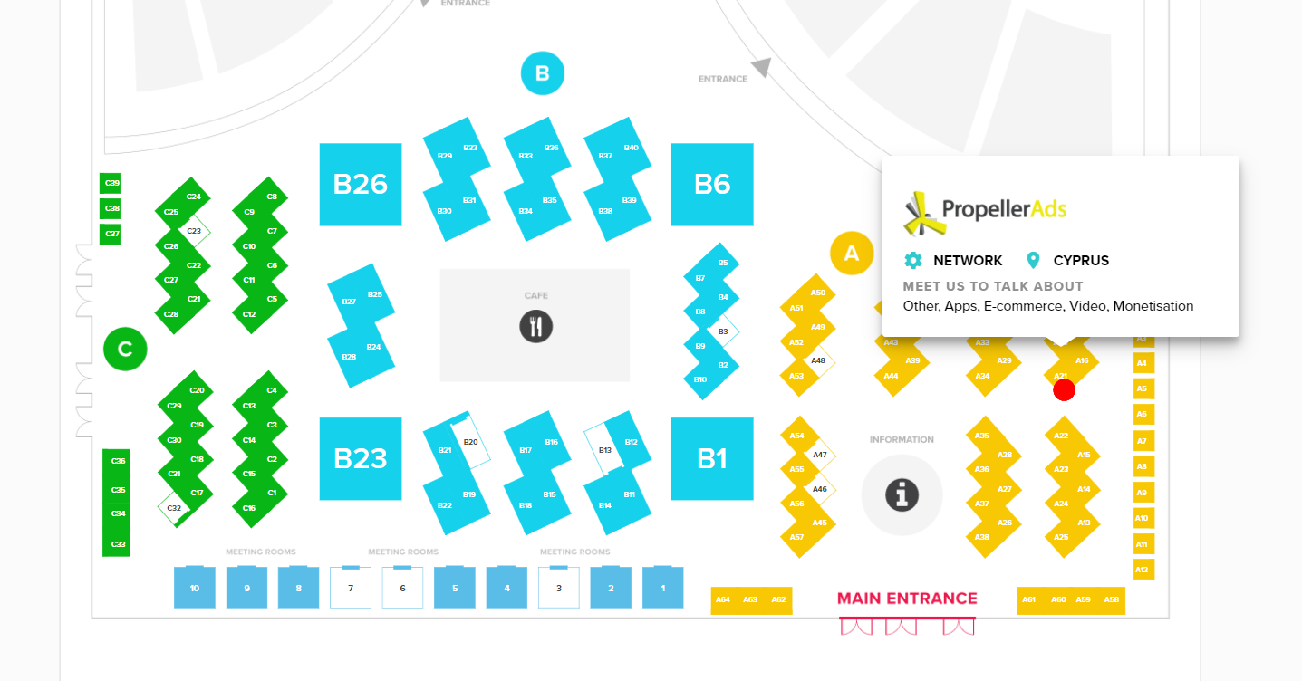 PropellerAds Booth A-21