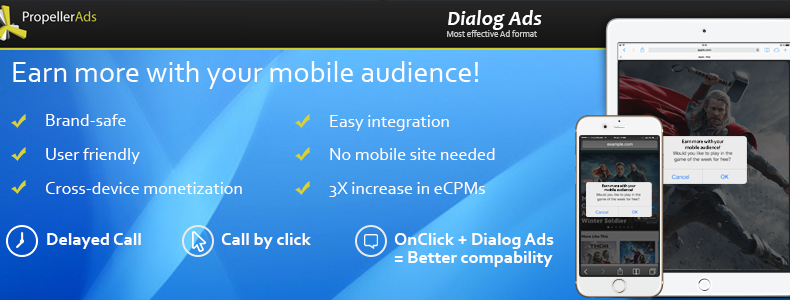 New features for Mobile Dialog Ads making it more user