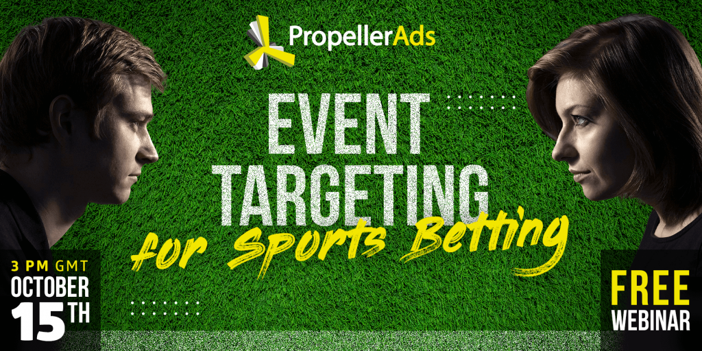 Event targeting for sports betting webinar