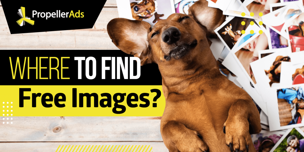 PropellerAds_Where to find free images