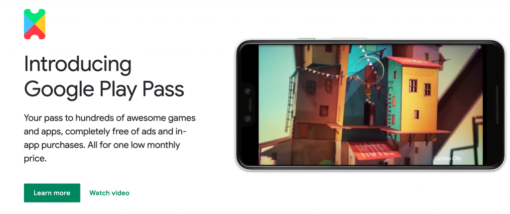 PropellerAds - google play pass - mobile gaming update