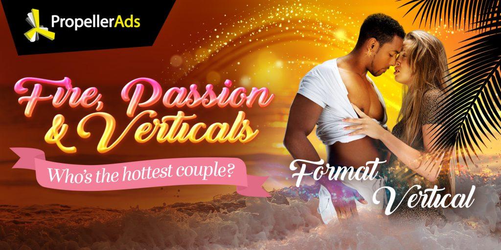PropellerAds - Valentine's day - verticals and formats