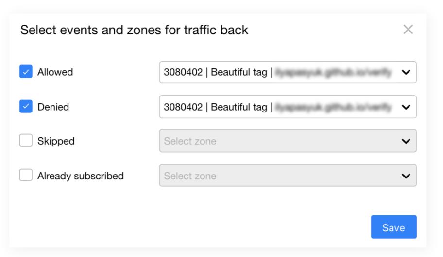 Propush.me - TrafficBack