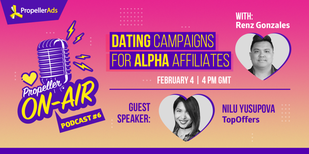 PropellerOnAir #6 - Dating campaigns - podcast
