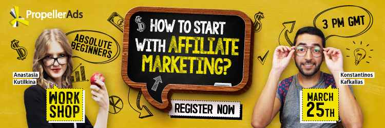 Workshop - how to start with affiliate marketing