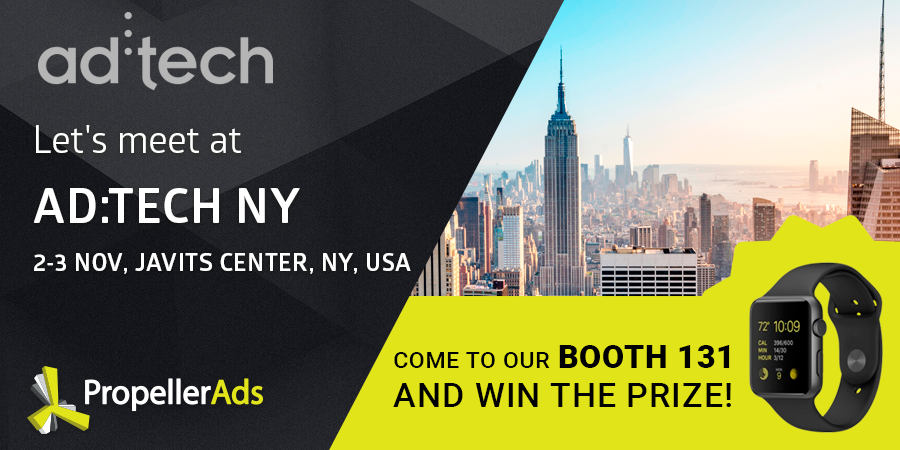 Meet us at AdTech NY 2016