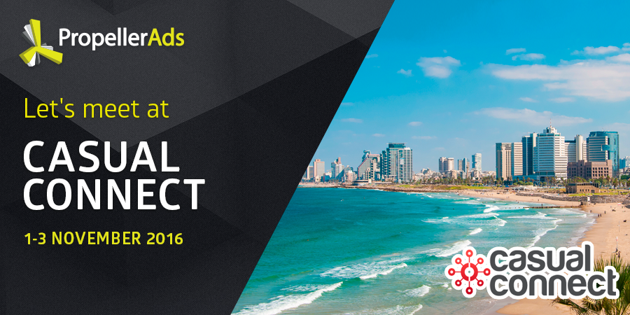Casual Connect Tel Aviv 2016